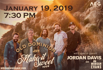 Old Dominion:  Make It Sweet Tour