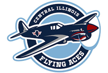 FLYING ACES VS MUSKEGON LUMBERJACKS